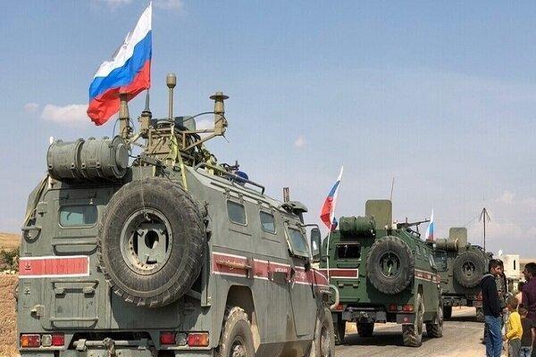 زخمی شدن نظامیان روس در شمال سوریه بر اثر انفجار مین