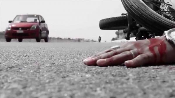 مرگ هولناک نوجوان 15 ساله ملایری بر اثر واژگونی موتورسیکلت