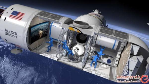 نگاهی به طراحی داخلی اولین هتل فضایی لوکس جهان